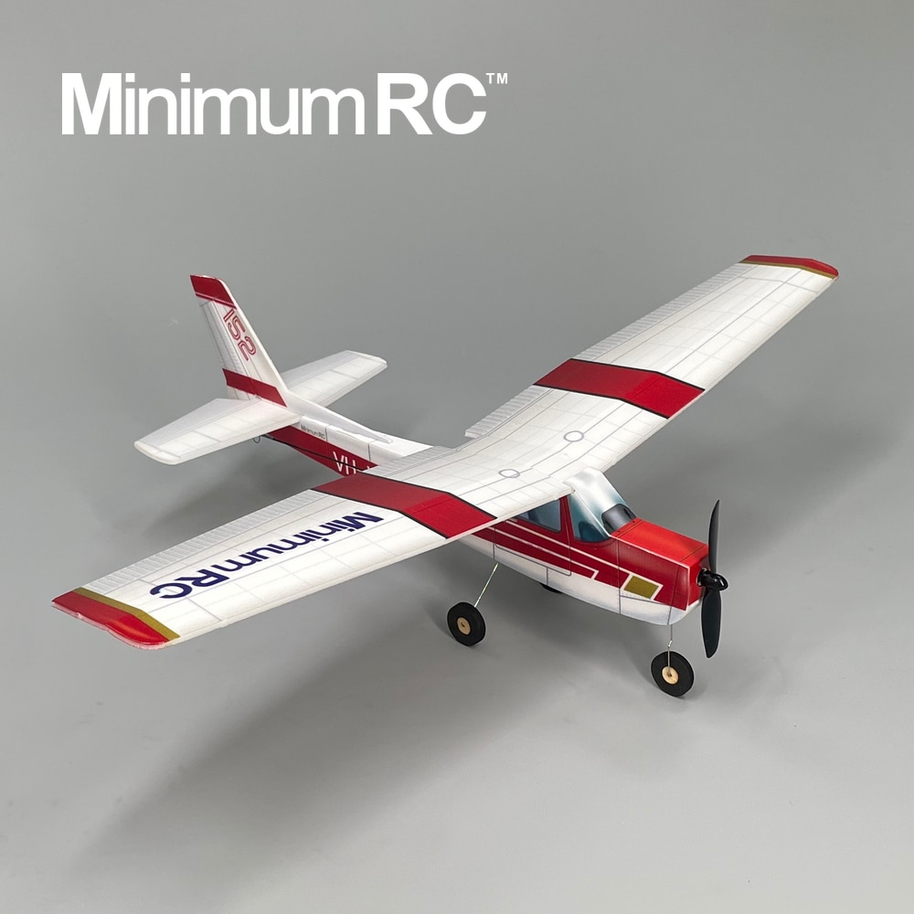 Minimum RC Cessna 152 Beginner Trainer Aircraft Remote Control Glider Plane Model Freeshipping enlarge