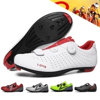 2020 breathable racing cycling shoes ultralight self locking cleat bicycle shoes pro riding road bike shoes cycling sneakers men