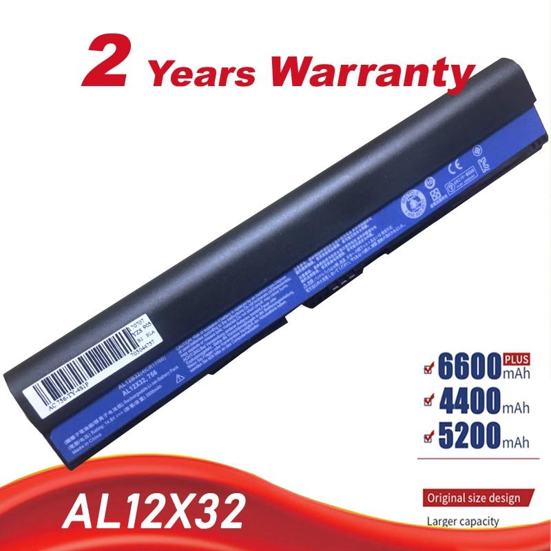 HSW 14,8 V 34wh AL12B32 AL12X32 Batterie Für Acer One 725 756 C7 C710 Chromebook V5-171 V5-121 V5-131 AL12B72 AL12B31 freeshipping