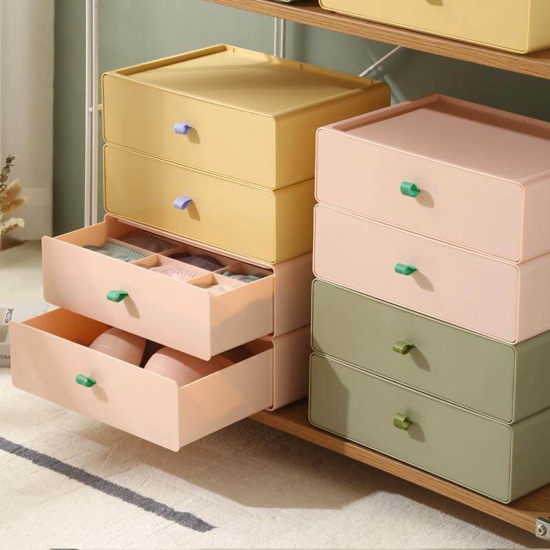 درج نوع صندوق تخزين الملابس الداخليّة متعددة الوظائف 12 تقلد الجوارب مخزن للأدوات التشطيب صندوق المنزل الصدرية تخزين المنتجات