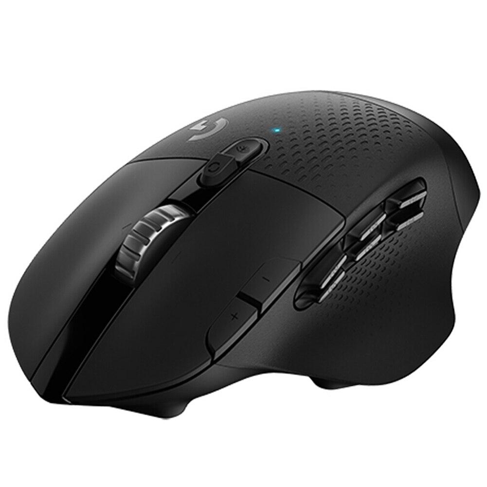 Ratón de videojuegos inalámbrico Logitech G604 LIGHTSPEED Bluetooth, modo Dual, 16K, Sensor de 15 Botones programables, ratón óptico para PC