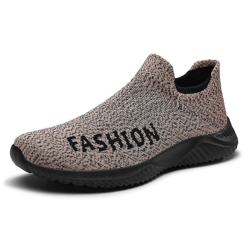 Spring and Summer Casual Mesh Shoes Men Comfortable Breathable Sneakers Male Slip-On Light Flat Shoes Footwear