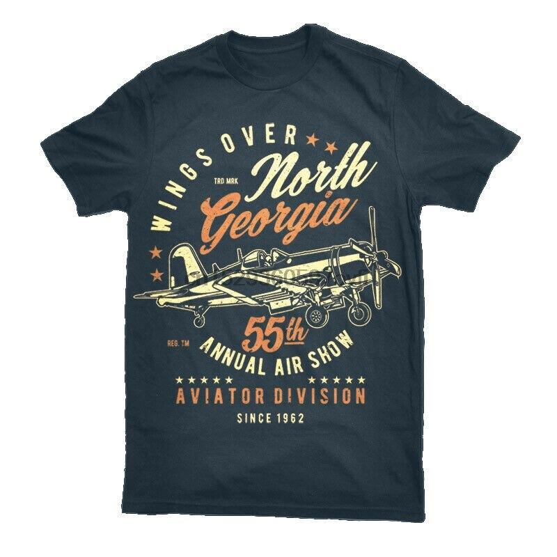 Camiseta avión aviador hombres S seis paquetes aviones piloto regalo Top S-3XL