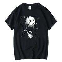 xin yi mens t shirt high quality 100 cotton funny spaceman print o neck fashion mens top cool men tshirt male men tee shirts