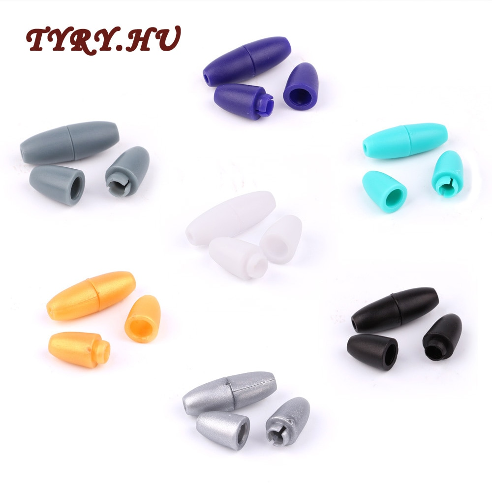 10Pairs Plastic Safety Clips for Silicone Teether beads Baby pacifier chain Teething Necklaces DIY Accessories Clamp