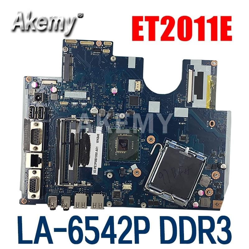 Akmey-placa base de escritorio para ASUS ET2011E ET2011EG LA-6542P LGA 775/enchufe T...