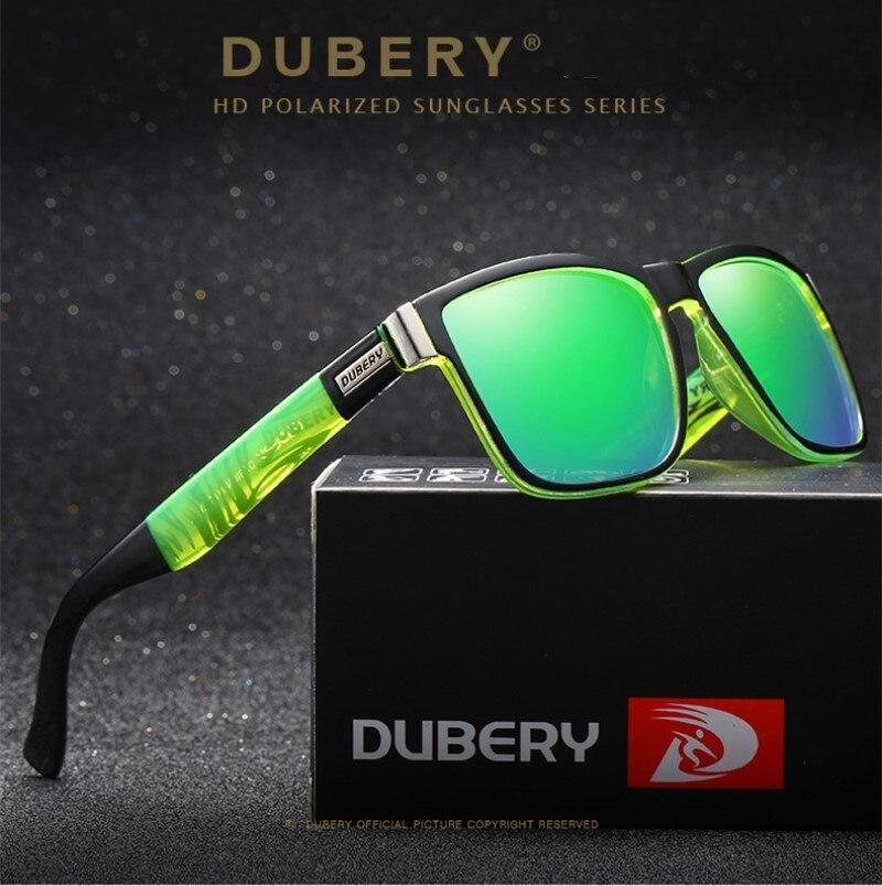 DUBERY Polarisierte Sonnenbrille männer Driving Shades Männlichen Sonne Gläser Für Männer Retro Günstige Luxus Marke Designer Oculos