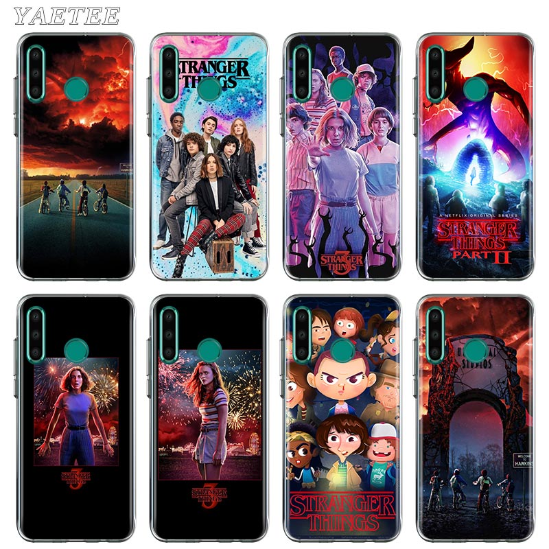 Extraño cosas funda del teléfono para Huawei Honor 10 10i 20 Lite 20S 30 Pro + 9A 9S 9C 9X 8A primer 8X TPU cubierta suave