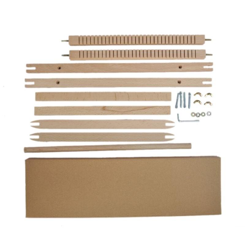 Tecelagem de madeira tear artesanato diy mão tricô tapeçaria mão-kit de máquina de malha para iniciante
