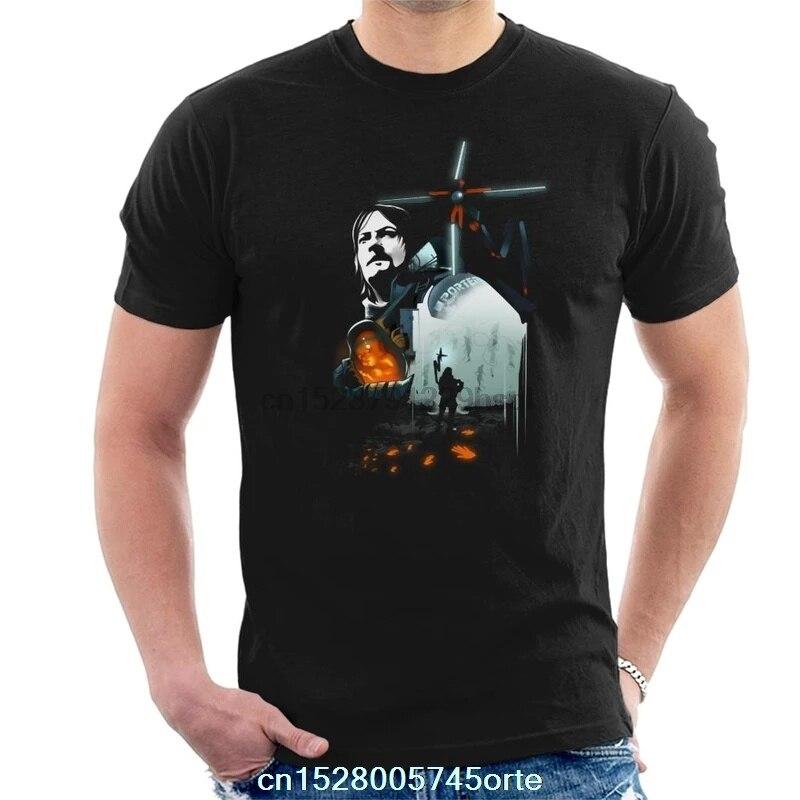 Printed camiseta Death Stranding Baby Men T-Shirt 100% cotton women tee shirt
