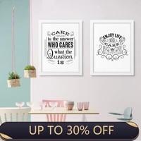 Affiches et imprimes de citation de gateau damour  toile dart mural  images murales pour gateau  magasin de desserts  decoration de maison amusante et douce