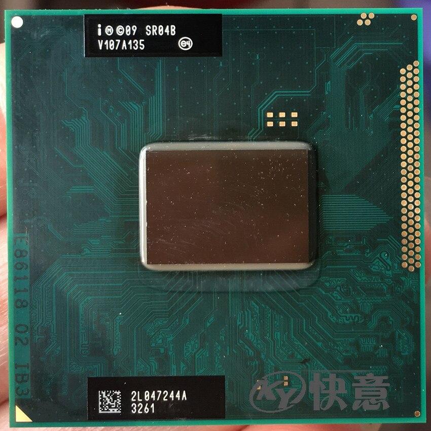 Intel Core i5 i5-2410M 2410M SR04B 2,3 GHz Dual-Core Quad-Hilo de procesador de CPU 3M 35W hembra G2/rPGA988B