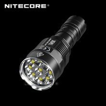 9500 Lumens NITECORE TM9K 9 x CREE XP-L HD V6 led Ultra Compact tactique lampe de poche intégré 21700 Li-ion 5000mAh batterie