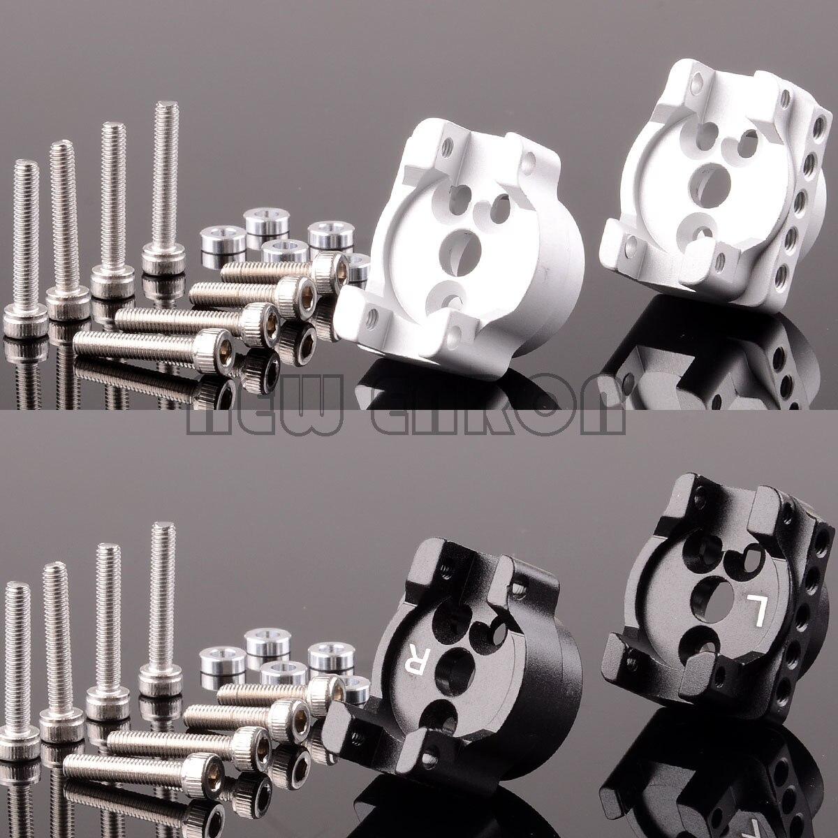 Nuevo ENRON 2P de aluminio Portal eje montaje #8256 parte trasera (L & R) para Traxxas 1/10 TRX-4 TRX4