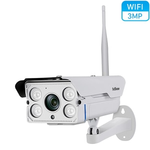 Srihome SH027 3MP Wifi IP Camera 3X Zoom Outdoor Waterproof Wireless ONVIF Motion Detectioin Alarm  Security Surveillance Camera