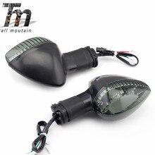 Pour YAMAHA MT-07 MT-09 FZ-09 FZ-07 FJ-09 XSR 900 TDM 900 Avant/Arrière LED Clignotant Lumière Moto Clignotant Lampe