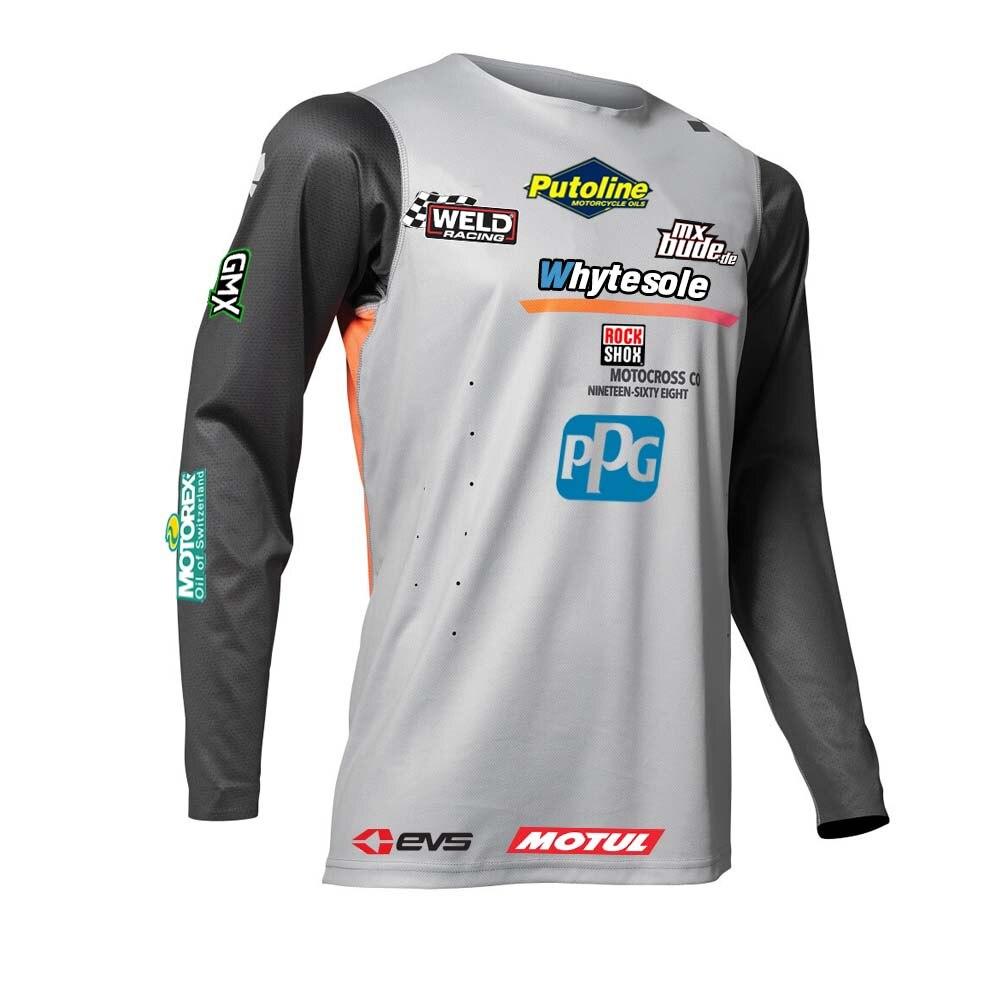 2020 ciclismo maillot jersey mx mtb jersey manga larga cuesta abajo jersey motocross enduro jersey de bici