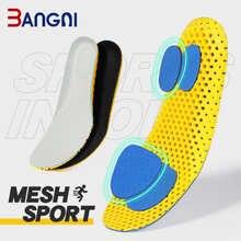 Bangni Стельки ортопедические пены памяти Спортивная поддержка вставки для женщин и мужчин обувь для ног ортопедическая дышащая подушка для б...