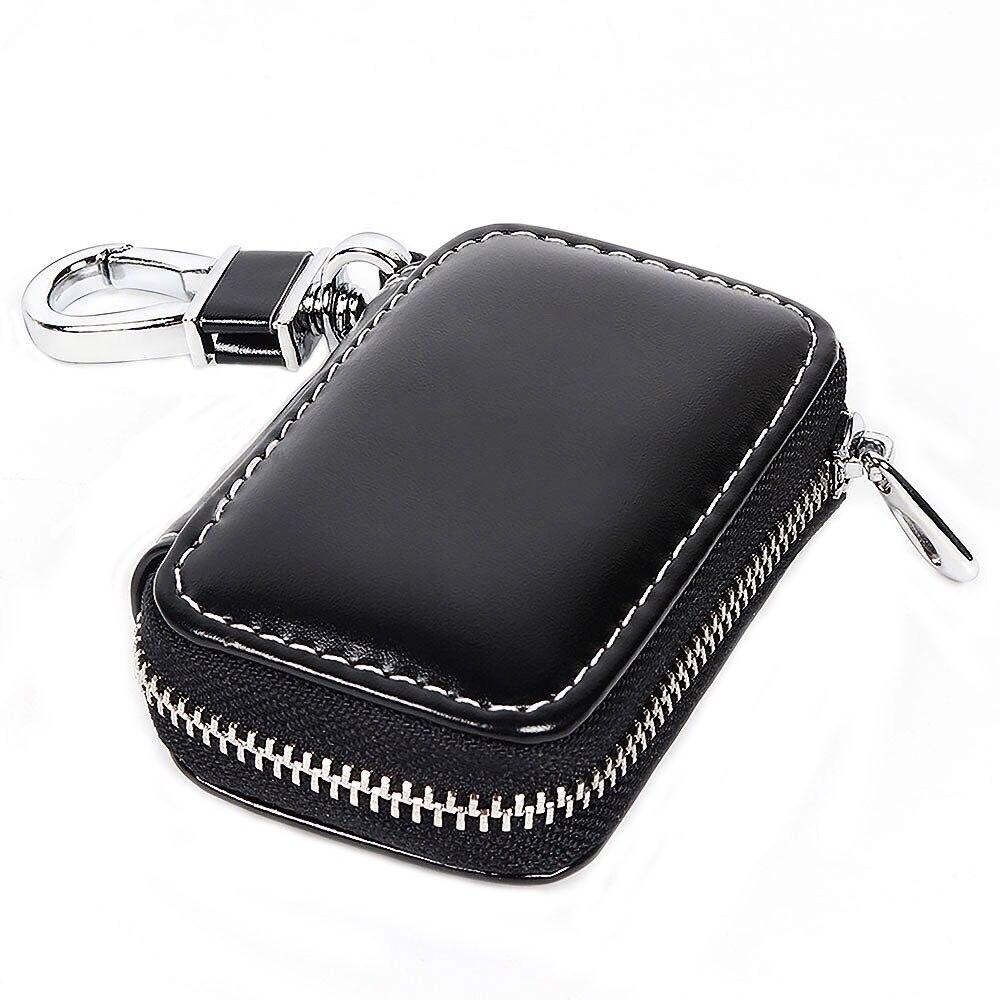 Leder Car Remote Key Fall Abdeckung Tasche Zubehör Für Mercedes Benz W205 W212 W124 W204 AMG W203 W210 W211 W176 w166 ML63 E200