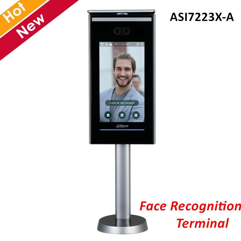Dahua, Control de acceso, Terminal de reconocimiento de cara independiente, pantalla LCD ASI7223X-A de 7 pulgadas, 2 MP CMOS para sistemas de intercomunicación