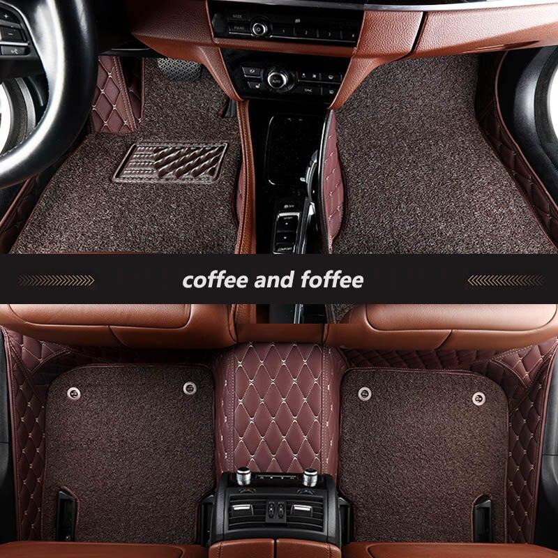 Kalaisike coche personalizado alfombras de piso para Suzuki grand vitara sx4 jimny Kizashi Alivio de ignis Splash S-Cross vitara liana swift