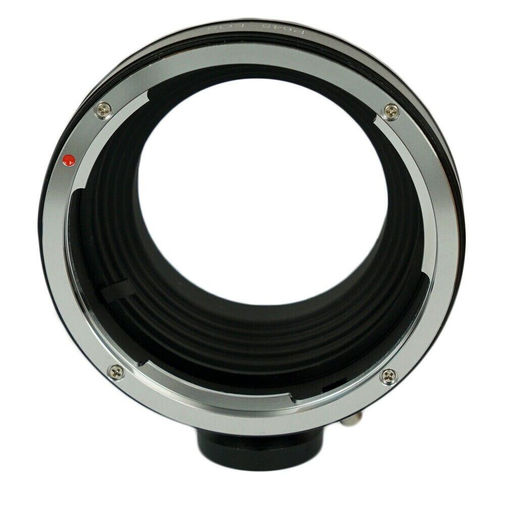 Etone para pentax 645 p645 lente para canon eos dslr slr EOS-1D 5d 60d 7d 100d adaptador de montagem