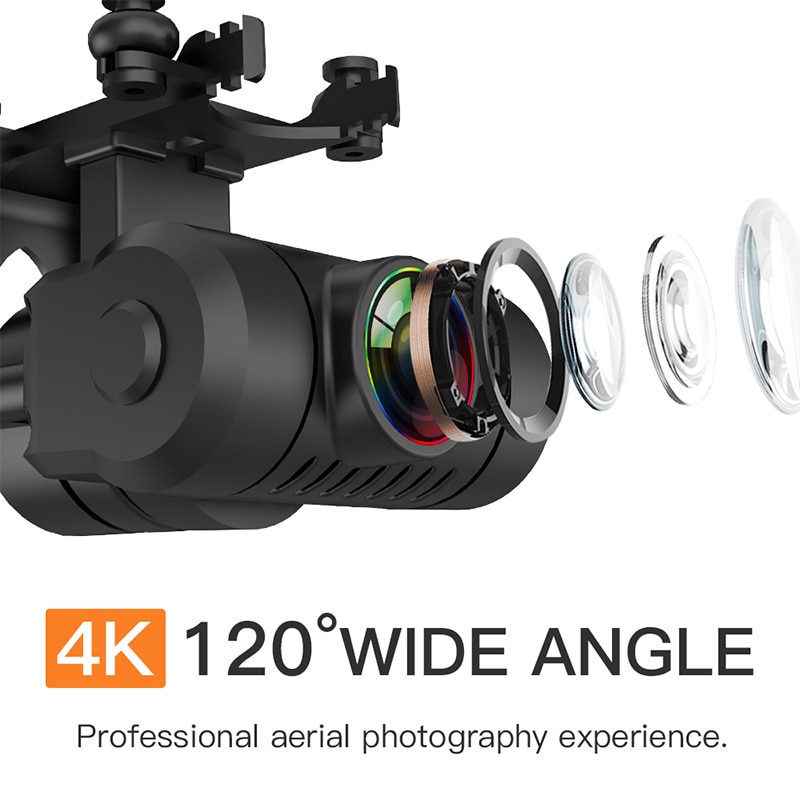 LAUMOX KF102 GPS Drone 4K HD Camera with 2-Axis Anti-Shake Gimbal Profesional Quadcopter Brushless WiFi FPV Dron VS SG907 MAX 10