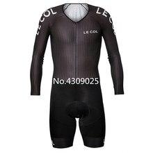 2020 LE COL equipo bicicleta triatlón niños Top tela maillot ciclismo skinsuit traje ciclismo mens bike vestido apretado bicicleta ropa