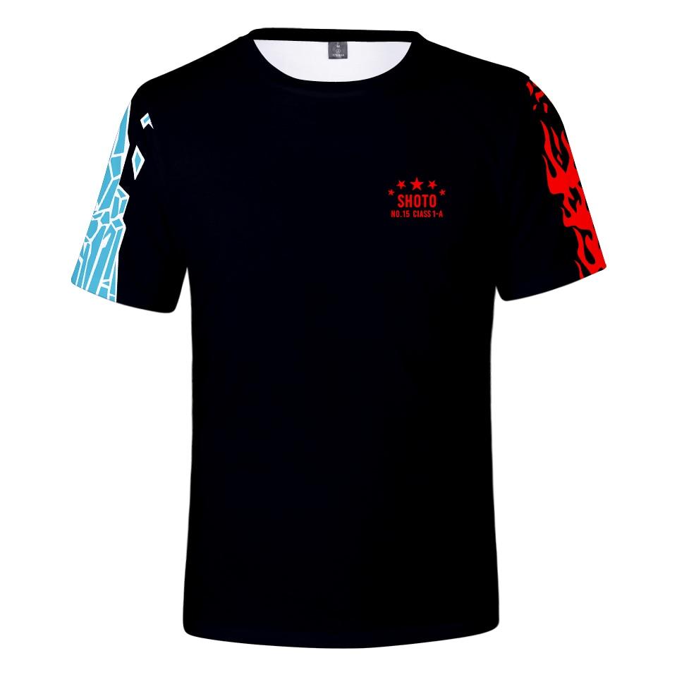 3dt popular camisa meu herói academia manga senhora moda venda 3dtees meninos outono verão casual manga curta preto topo
