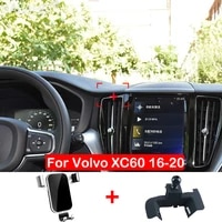 car phone holder for volvo xc60 accessories 2017 2018 2019 2020 air vent mount cell stand car accessories mobile phone holder
