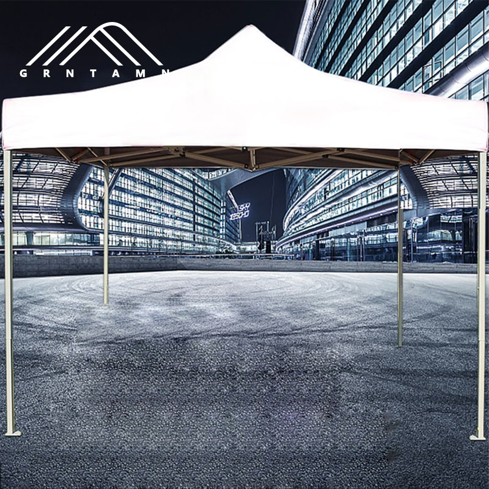 free shipping beautiful and romantic 10ft x 15ft 3m x 4 5m aluminum wedding party gazebo pop up tent event marquee awning GRNTAMN Outdoor Waterproof Gazebo Portable Event Canopy Tent White Wedding Camping Folding Tent