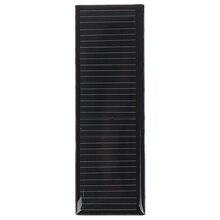 Nuevo 84*28mm Mini 5,5 V 20MA Mono Panel Solar para DIY Juguete/lámpara Solar de jardín luces de Sensor de/linterna Solar linterna 5,5 V venta al por mayor
