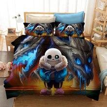 Undertale 3D Printed Bedding Set Duvet Covers Pillowcases Comforter Bedding Set Bedclothes Bed Linen(NO sheet)
