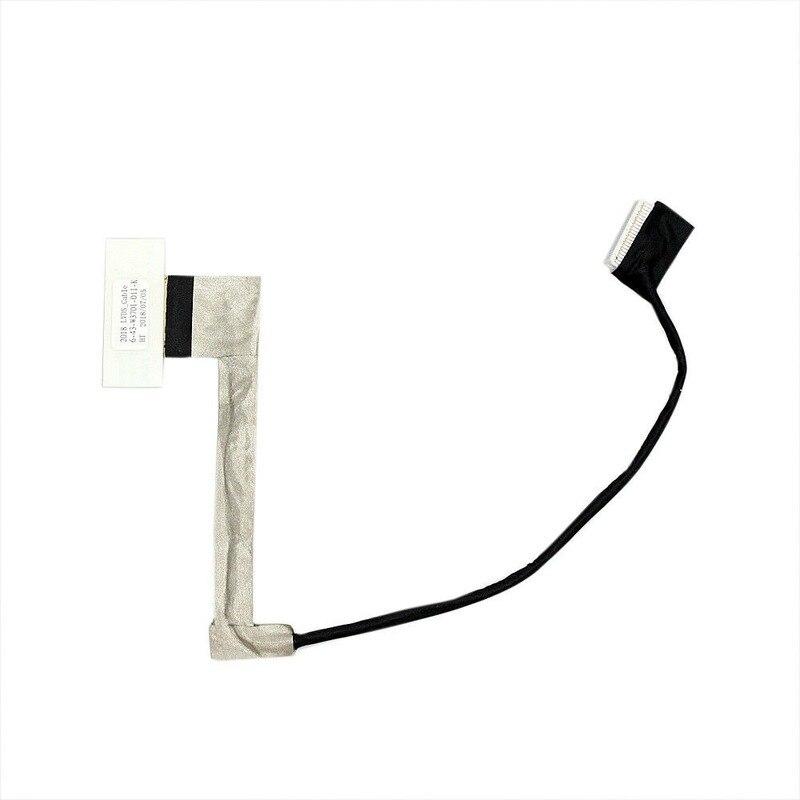 ل Clevo W370ET LCD كابل 6-43-W3701-001-K 6-43-W3701-010-K 6-43-W3701-011-K