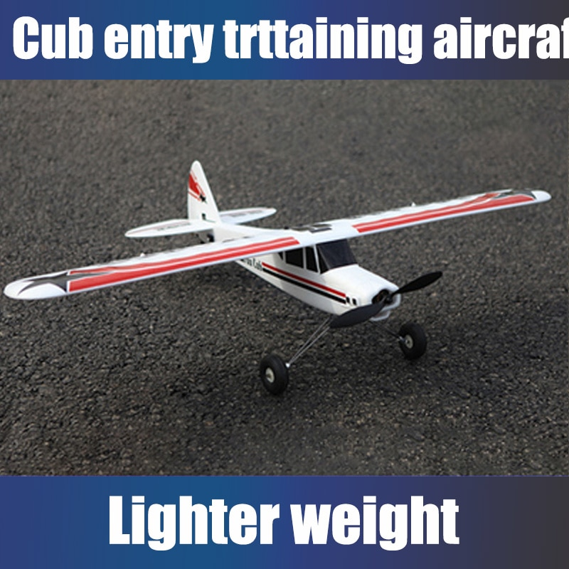 EPO RC airplane MODEL HOBBY 4ch or 5 channel plane wingspan 1100 mm FUN CUB TRAINER for beginner Fixed-wing aircraft CUB enlarge