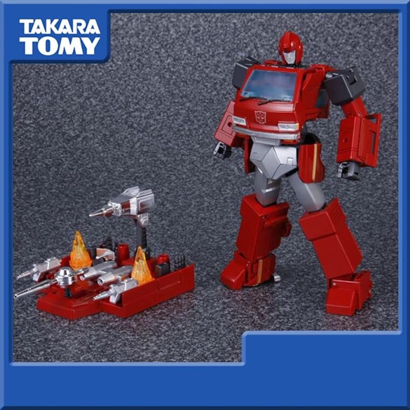 TAKARA TOMY Transformers Robots Japón MP-27 Ironhide nivel Maestro figura de acción Deformable colección Juguetes
