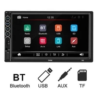 45 hot sales n6 7inch screen usb 2 0 interface high definition bluetooth compatible car mp5 video player