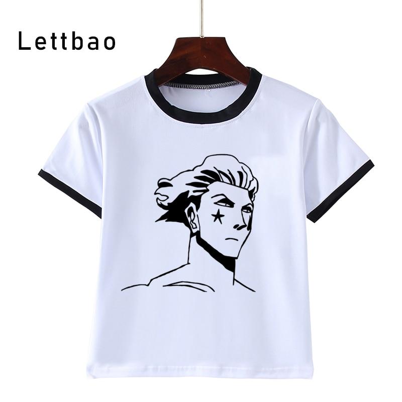 Hisoka Hunter X-Camiseta de cazador para niños, ropa de calle cómoda a...