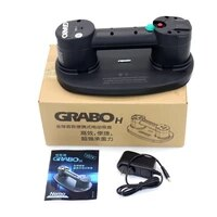 grabo h portable electric vacuum suction cup lifter for wood drywall granite glass tile heavy lifting tool