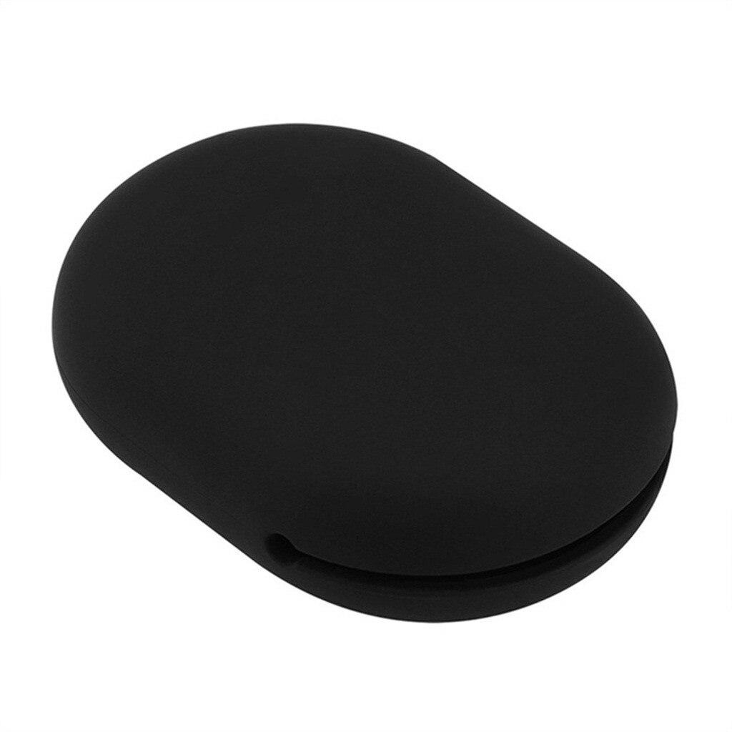 Forma de bola cargador de silicona organizador caja de auriculares Mini estuche de almacenamiento de viaje para tarjeta de memoria Cable auricular bolsa cargador cubierta