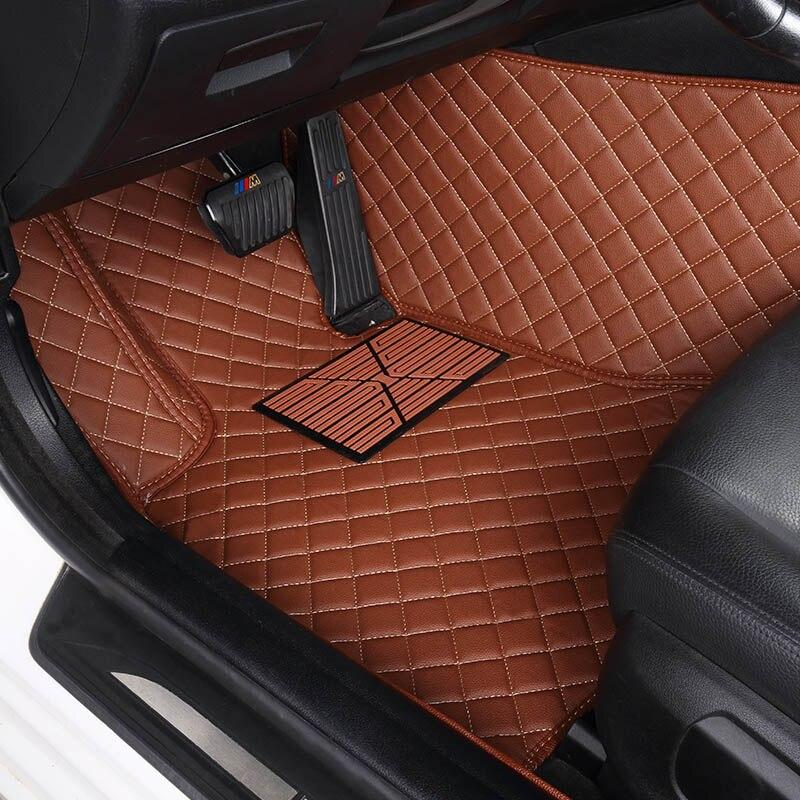 Yuzhe car floor mats for audi tt mk1 a3 sportback a4 b8 avant a5 sportback a4 b7 avant q3 q5 q7 carpet rugs floor mat