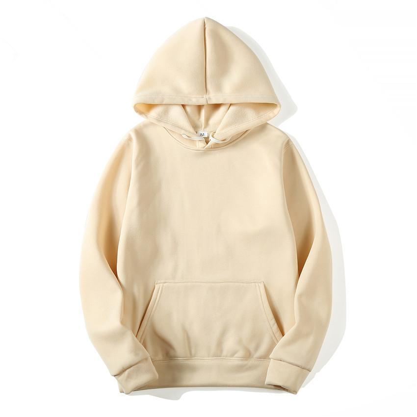New brand Hoodie Streetwear Hip Hop red Black gray pink Hooded Hoody Mens Hoodies and Sweatshirts Size S-XXXL