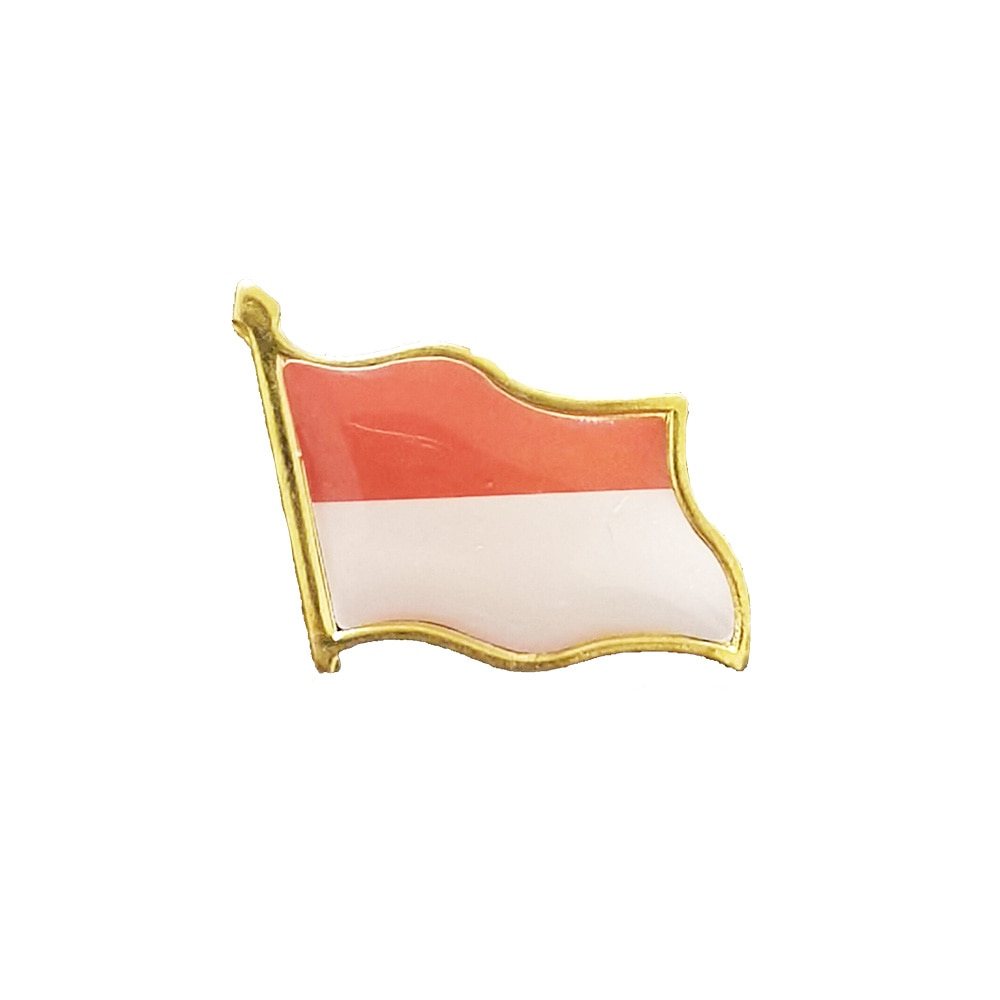 Indiana Flag Brooch Electroplated Gold Enamel Pin Badge Backpack/Collar/Hat Accessories Decoration Given Men/Women So Beautiful