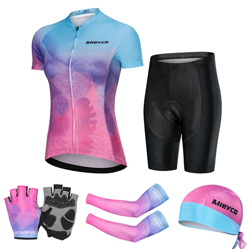 Conjunto de Jersey de Ciclismo Retro gigante para Mujer, Vtt Maillot, ropa...
