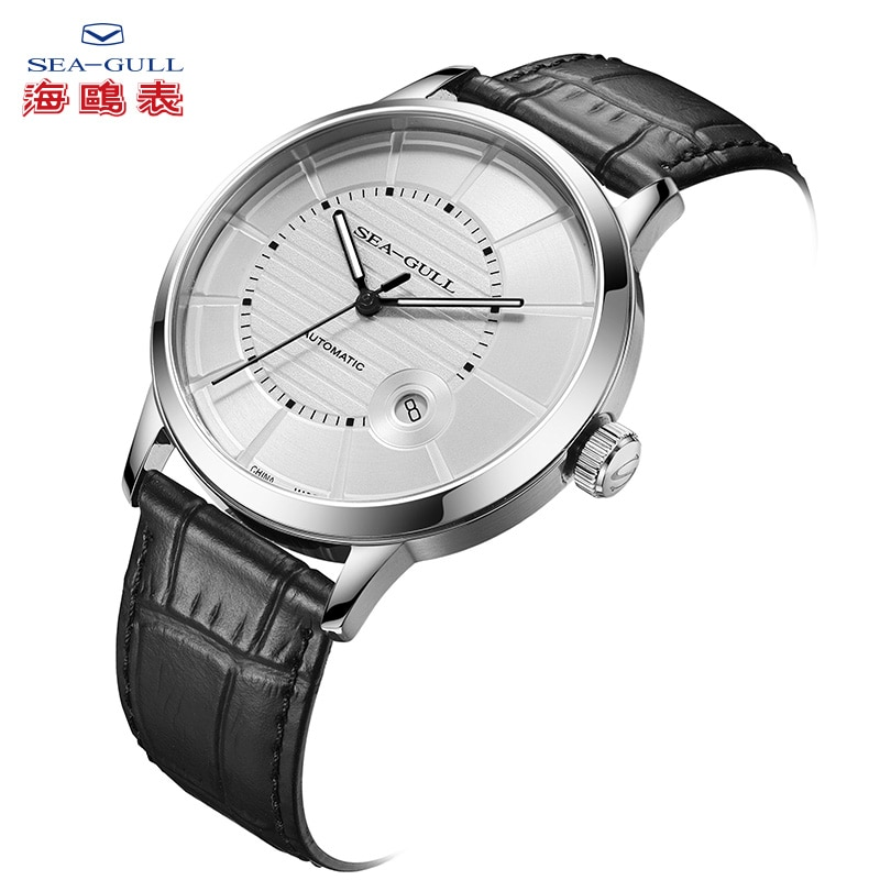 Seagull Men's Watches Fashion Leisure Sports Date Sapphire Face Automatic Mechanical  Male Watch for men 819.12.6037 enlarge