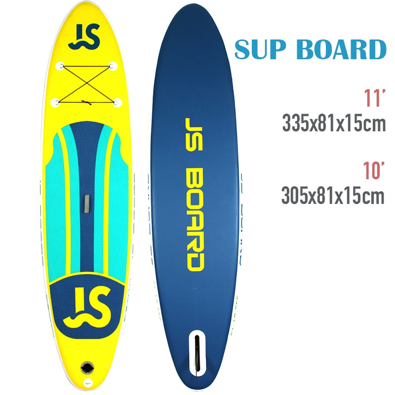 10' 11' iSUP Inflatable Stand Up Paddle Surfing Yoga Fishing Board