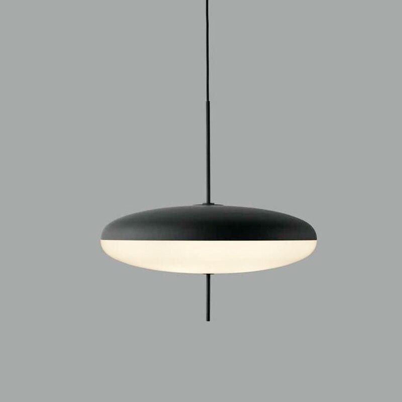 إيطاليا مصمم قلادة LED ضوء لغرفة النوم/غرفة المعيشة الشمال UFO قلادة مصباح المنزل داخلي معلق ضوء