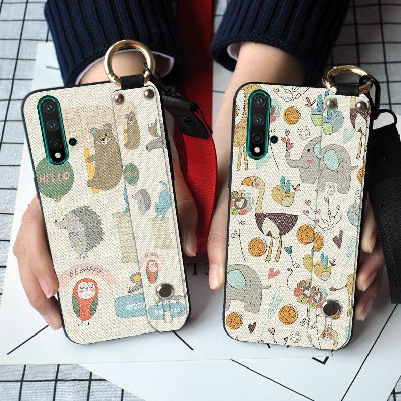 Lindo gato Ultra Teléfono fino para Huawei Nova 6 SE 2 2i 3 3i 3E 4 4E 5 5i 5Z 5T P20 Lite P30 Pro Animal cubierta de silicona