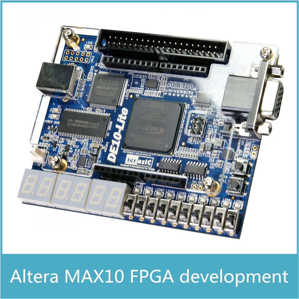 Altera MAX10 10M50 CPLD Development Board Altera DE10-lite with 64MB SDRAM with Arduino R3 Connector USB Blaster