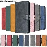 Чехол-книжка для Xiaomi Mi A2, кожаный чехол для Xiaomi mi A2, A1, A3, Mi 9 Lite, Магнитная подставка, чехол-Бумажник для телефона